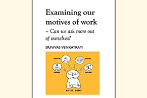 Read this Kindle Book to discover how you can deepen your motives of work
